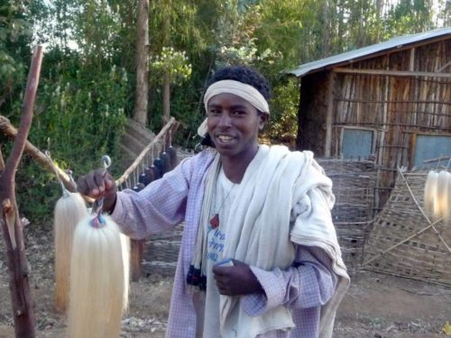 young ethiopian man, Ethiopia