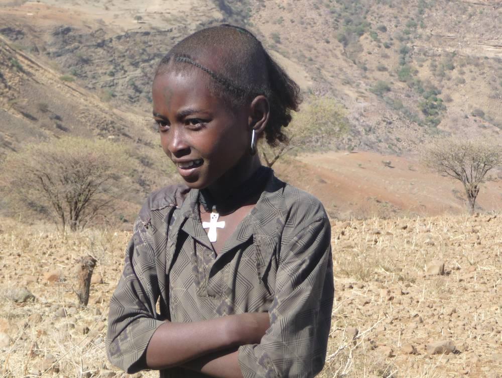 young ethiopian girl, Ethiopia