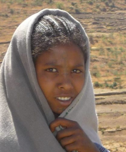 young ethiopian lady, Ethiopia
