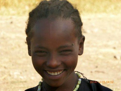 Ethiopian young girl, North Ethiopia