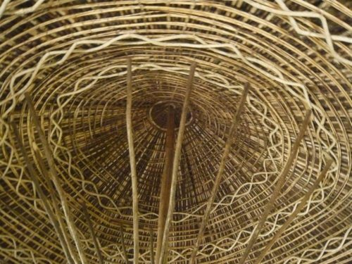 Roof in local hut, South Ethiopia