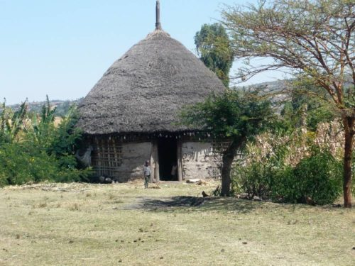 local house in South Ethiopia