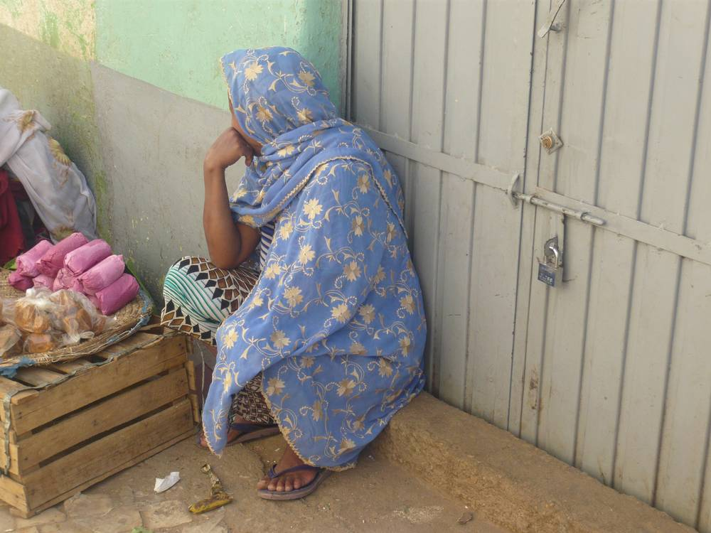 Daily life in old city of Harar, East Ethiopia