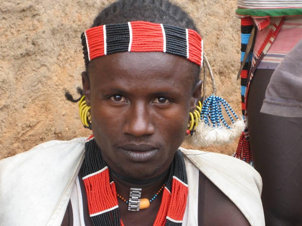 Hamar tribe young boy, Omo Valley, South Ethiopia