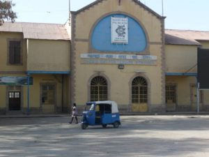 Dire Dawa train station, East Ethiopia