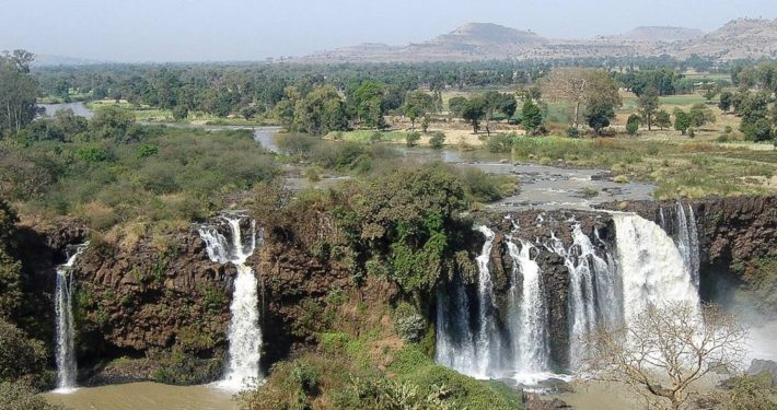 Blue Nile Falls (Tiss Issat in Amharic), North Ethiopia