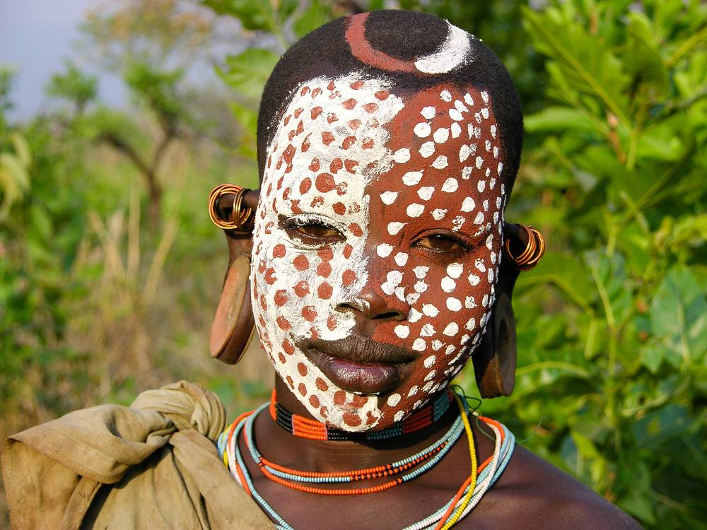Surma Tribe boy, Omo National Park, South West Ethiopia