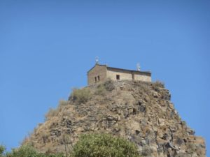 Abba Pentalehwon Monastery in Axum, North Ethiopia