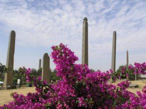 Obelisks stelaes Axoum, North Ethiopia