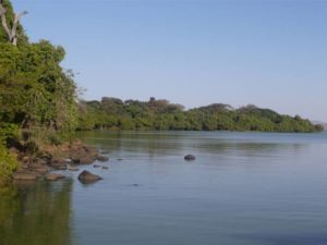 Vue du lac Tana, Bahar Dar, Nil bleu, Ethiopie
