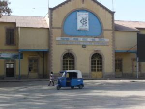 La gare de Dire Dawa, Ethiopie
