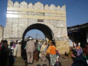 Harar entrance market, East Ethiopia