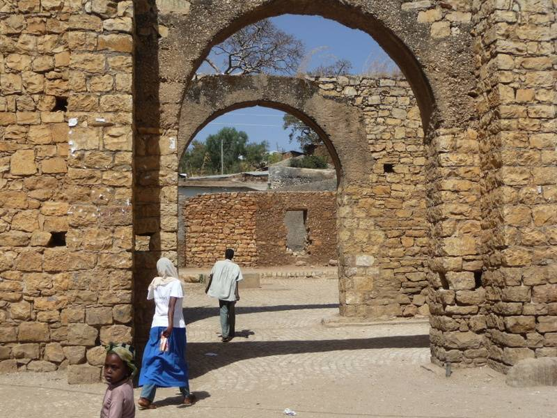 Harar Jugol, wall of holy city, East Ethiopia