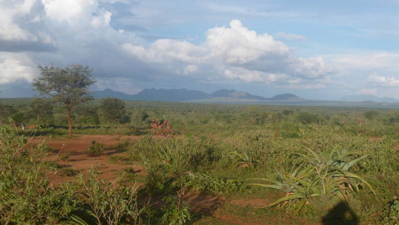 Landscape in Omo Valley, South Ethiopia