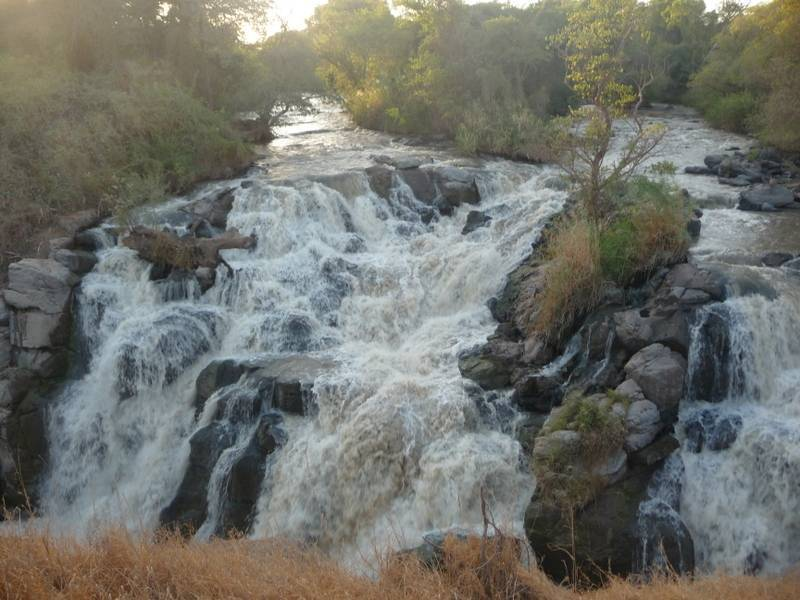 Awash River in Awash National Park East Ethiopia