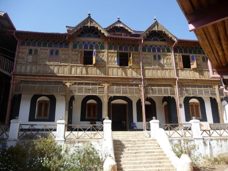 Harar old city, Museum of Arthur Rimbaud french writer, East Ethiopia